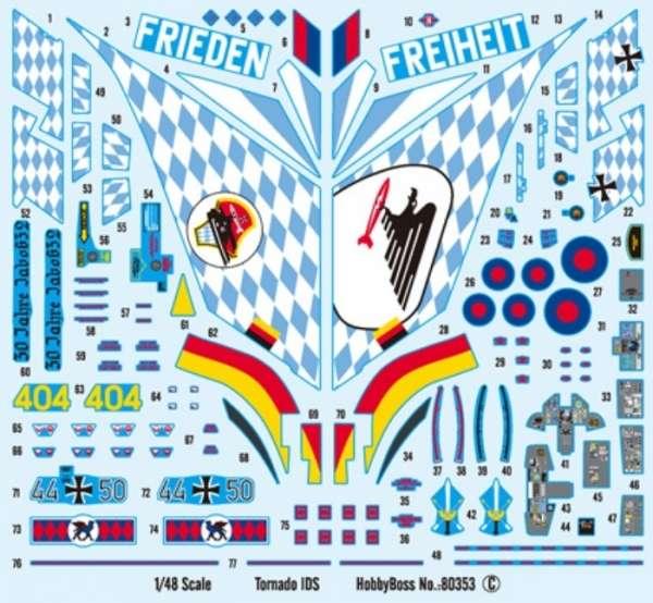Plastikowy model Hobby Boss 80353 samolot Tornado IDS do sklejania - image_4-image_Hobby Boss_80353_2