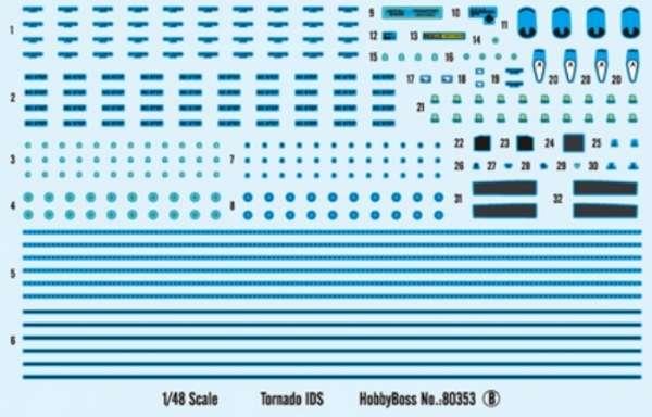 Plastikowy model Hobby Boss 80353 samolot Tornado IDS do sklejania - image_2-image_Hobby Boss_80353_2