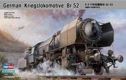 Model niemieckiej lokomotywy pancernej z okresu WWII Kriegslokomotive_BR_52_Hobby_boss_82901_image_3-image_Hobby Boss_82901_3