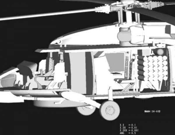 Plastikowy model amerykańskiego śmigłowca SH-60B Seahawk - sklep modeledo - image_11-image_Hobby Boss_87231_3