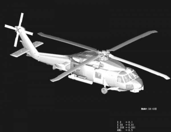 Plastikowy model amerykańskiego śmigłowca SH-60B Seahawk - sklep modeledo - image_5-image_Hobby Boss_87231_3