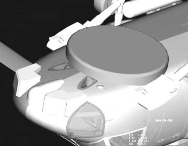 Plastikowy model amerykańskiego śmigłowca SH-60B Seahawk - sklep modeledo - image_10-image_Hobby Boss_87231_3