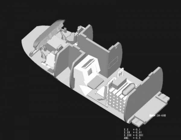 Plastikowy model amerykańskiego śmigłowca SH-60B Seahawk - sklep modeledo - image_8-image_Hobby Boss_87231_3