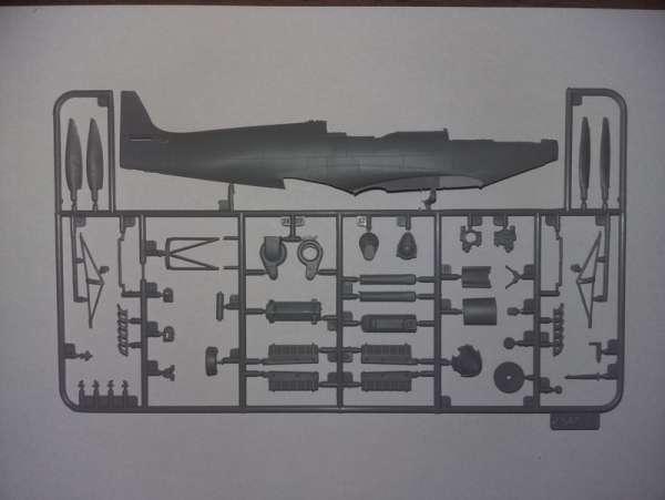 ICM 48060 w skali 1:48 - model Spitfire Mk.IXC Beer Delivery do sklejania - image h-image_ICM_48060_3