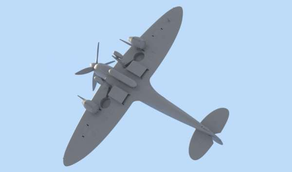 ICM 48060 w skali 1:48 - model Spitfire Mk.IXC Beer Delivery do sklejania - image d-image_ICM_48060_2