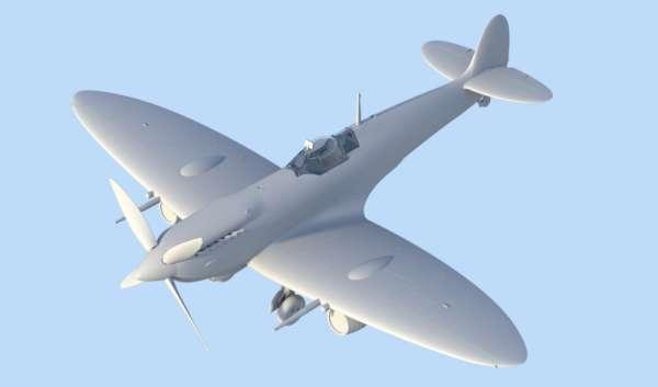 ICM 48060 w skali 1:48 - model Spitfire Mk.IXC Beer Delivery do sklejania - image c-image_ICM_48060_2