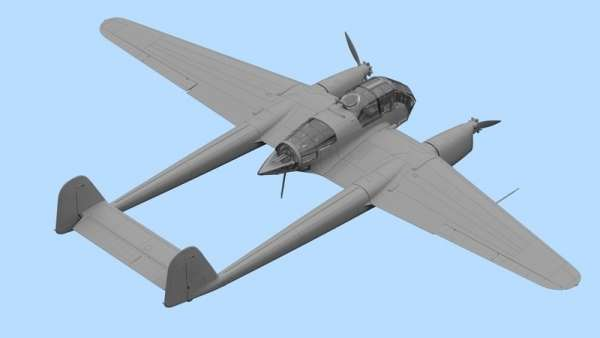 German reconnaissance plane FOcke-Wulf FW189A-2 model_inc_72292_image_1-image_ICM_72292_3
