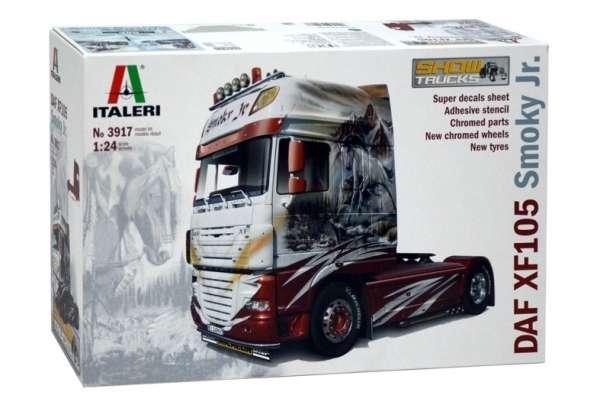 Truck model Daf XF105 Smoky jr. oferta_sklepu_modelarskiego_modeledo_model_do_sklejania_italeri_3917_image_1-image_Italeri_3917_3