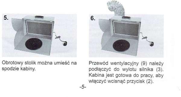 Komora lakiernicza AD-7000 - instrukcja przygotowania do pracy c.d.-image_Adler_AD-7000_4