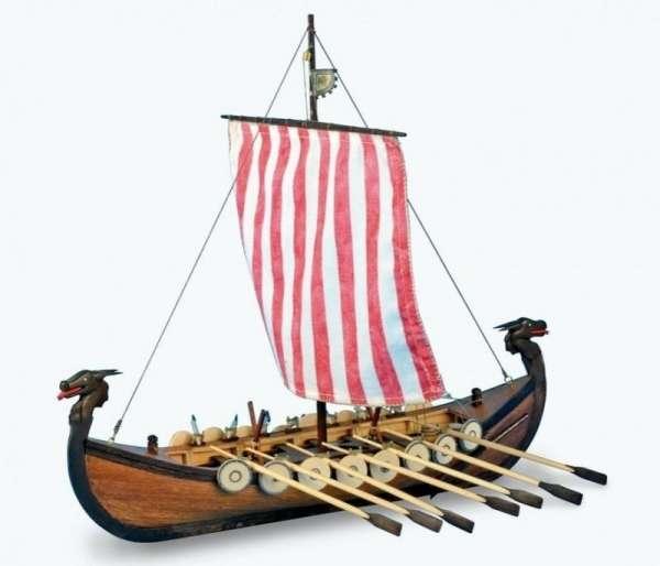 drewniany-model-lodzi-wikingow-do-sklejania-viking-modeledo-image_Artesania Latina drewniane modele statków_19001-N_1