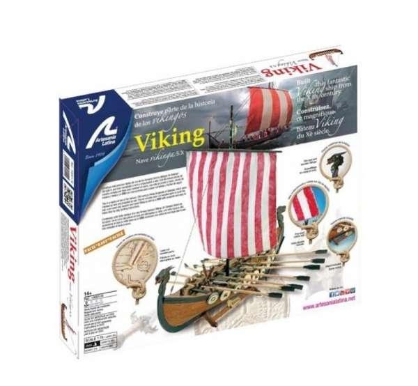 drewniany-model-lodzi-wikingow-do-sklejania-viking-modeledo-image_Artesania Latina drewniane modele statków_19001-N_6
