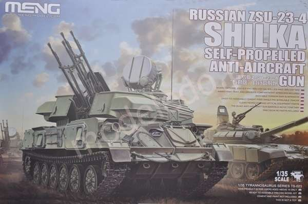 Plastikowy model do sklejania rosyjskiego systemu plot ZSU-23-4 Shilka model_meng_image_11-image_Meng_TS-023_11