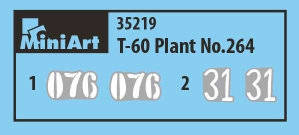 MiniArt 35219 w skali 1:35 - model T-60 Plant No264 do sklejania - image bf-image_MiniArt_35219_6