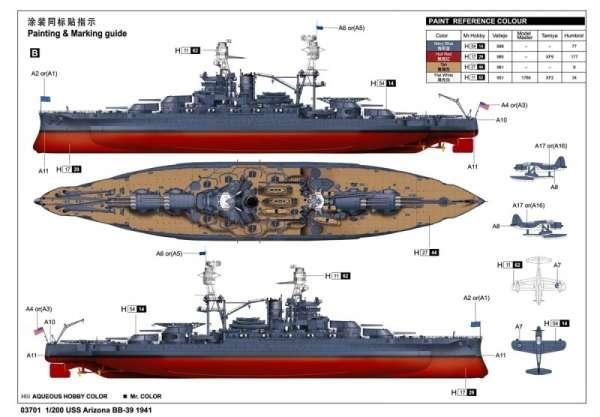 model_do_sklejania_modelu_pancernika_uss_arizona_trumpeter_03701_sklep_modelarski_modeledo_image_19-image_Trumpeter_03701_3