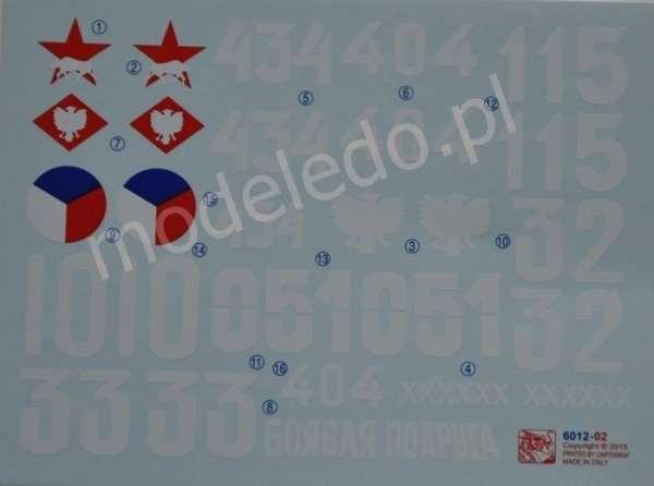 Kalkomanie do modelu czołgu JS-2-image_Dragon_6012_4