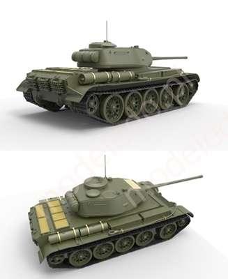 Plastikowy model do sklejania radzieckiego czołgu T44 w skali 1:35 firmy Miniart 35193-image_MiniArt_35193_3
