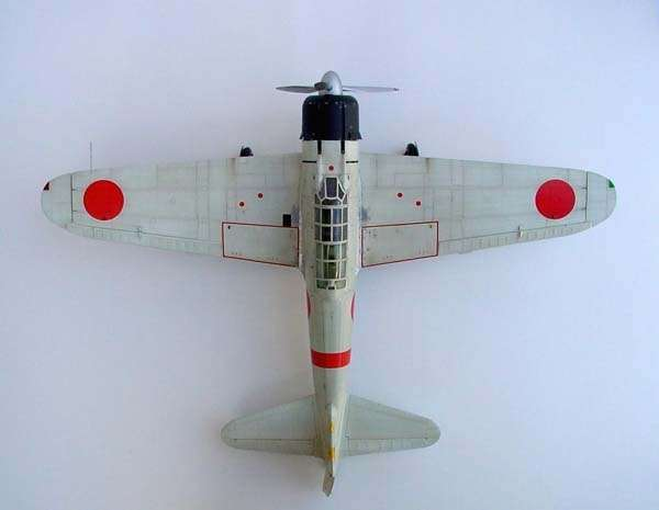 Mitsubishi A6M2b Zero model_do_sklejania_trumpeter_02405_image_1-image_Trumpeter_02405_3