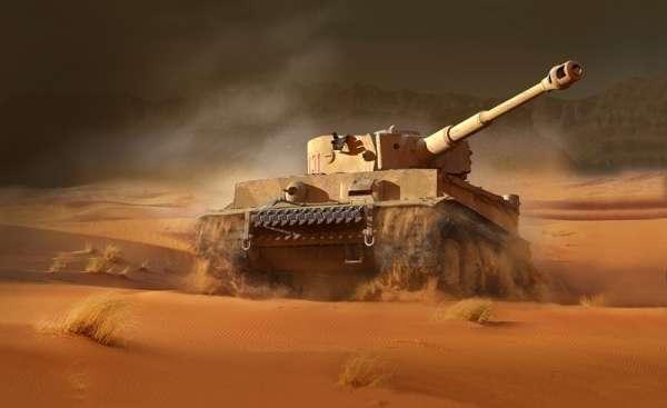 Plastikowy model do sklejania z kodami do gry World of Tanks - Tiger I model_italeri_36512_image_2-image_Italeri_36512_3