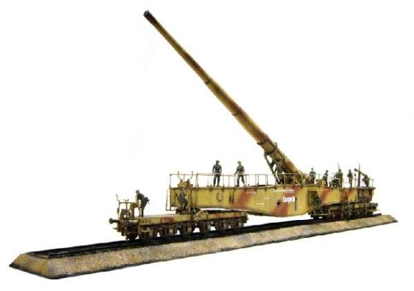 German Railway Gun 28cm K5(E) Leopold model_do_sklejania_dragon_6200_1_35_image_2-image_Dragon_6200_3