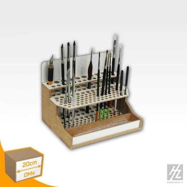 Hobby Zone OMs07 - modułowy organizer na pędzle i narzędzia modelarskie - 20cm - image modeledo.pl -c-image_Hobby Zone_OMs07_3