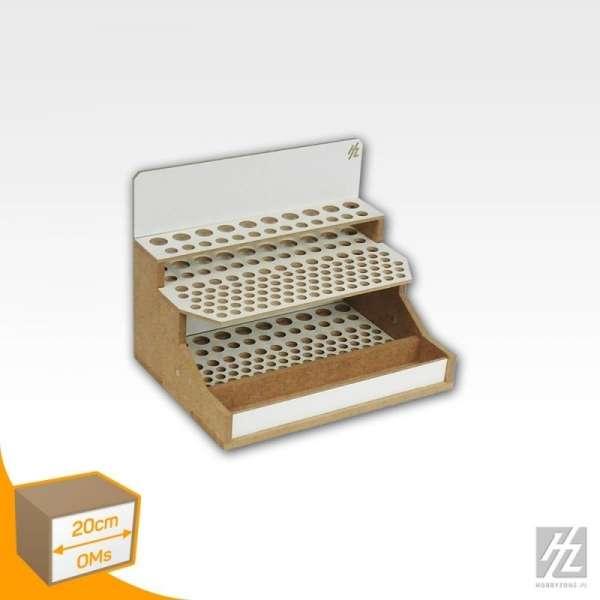 Hobby Zone OMs07 - modułowy organizer na pędzle i narzędzia modelarskie - 20cm - image modeledo.pl -e-image_Hobby Zone_OMs07_4