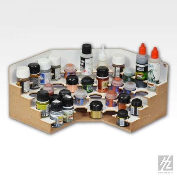 Hobby Zone OM06b - narożny modułowy organizer na farby 36mm - image modeledo.pl -c-image_Hobby Zone_OM06b_3