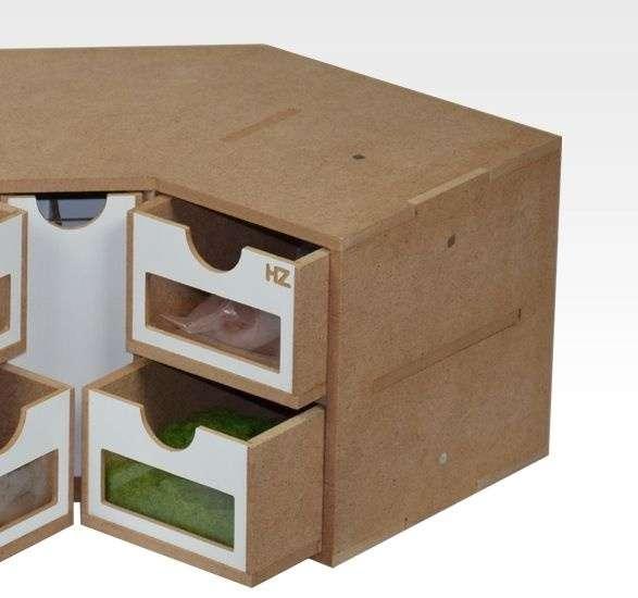 Hobby Zone OM03 - modułowy organizer narożny z szufladkami - image modeledo.pl -b-image_Hobby Zone_OM03_3