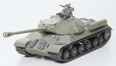 Model czołgu JS-3 po sklejeniu.-image_Tamiya_35211_3