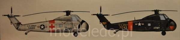 CH-34 US Army Rescue - amerykański śmigłowiec ratowniczy w skali 1:48 model_mrc_64103_image_5-image_Merit_64103_4