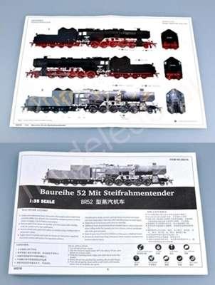 Kriegslokomotive Baureihe 52 BR-52 lokomotywa do sklejania model_trumpeter_00210_image_5-image_Trumpeter_00210_7