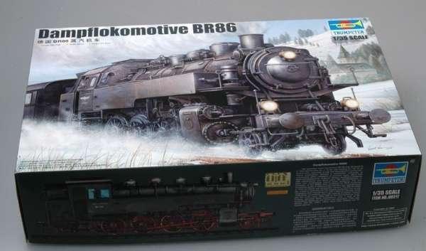 Trumpeter 00217 w skali 1:35 - model Dampflokomotive BR86 - image a-image_Trumpeter_00217_3