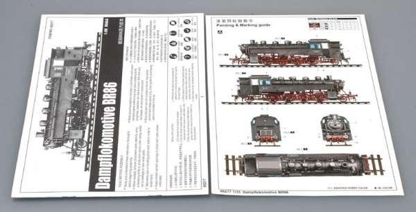 Trumpeter 00217 w skali 1:35 - model Dampflokomotive BR86 - image b-image_Trumpeter_00217_3