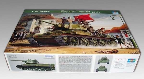 Trumpeter 00903 w skali 1:16 - model Soviet Tank T34/76 model 1943 - image m-image_Trumpeter_00903_3