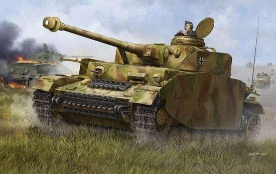 Trumpeter 00920 w skali 1:16 - model German Pzkpfw IV Ausf.H Medium Tank - image a4-image_Trumpeter_00920_10