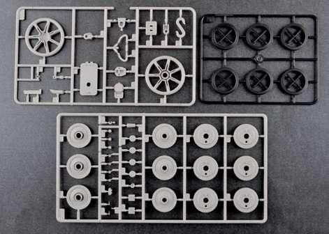 Trumpeter 00920 w skali 1:16 - model German Pzkpfw IV Ausf.H Medium Tank - image p-image_Trumpeter_00920_7