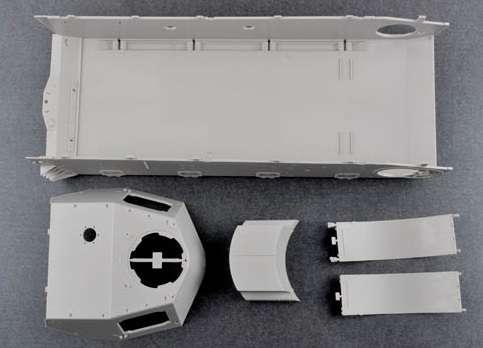 Trumpeter 00920 w skali 1:16 - model German Pzkpfw IV Ausf.H Medium Tank - image e-image_Trumpeter_00920_5