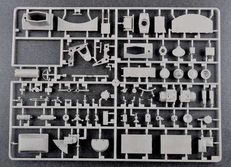 Trumpeter 00920 w skali 1:16 - model German Pzkpfw IV Ausf.H Medium Tank - image j-image_Trumpeter_00920_7