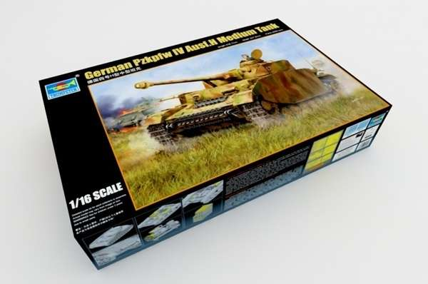 Trumpeter 00920 w skali 1:16 - model German Pzkpfw IV Ausf.H Medium Tank - image a3-image_Trumpeter_00920_9
