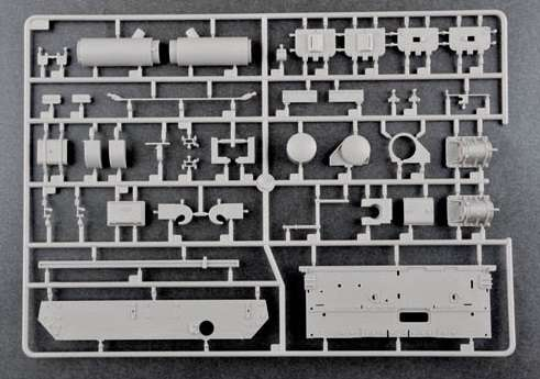 Trumpeter 00920 w skali 1:16 - model German Pzkpfw IV Ausf.H Medium Tank - image i-image_Trumpeter_00920_7