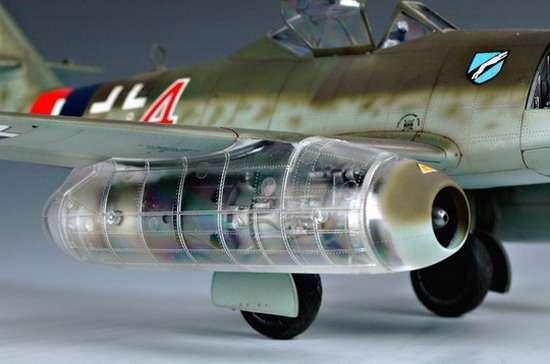 German fighter Messerschmitt Me262_a_1a plastikowy_model_do_sklejania_trumpeter_02235_image_2-image_Trumpeter_02235_1