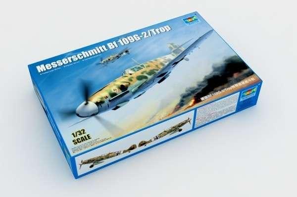 German WWII fighter Messerschmitt Bf109G-2/Trop model_do_sklejania_trumpeter_02295_image_2-image_Trumpeter_02295_3