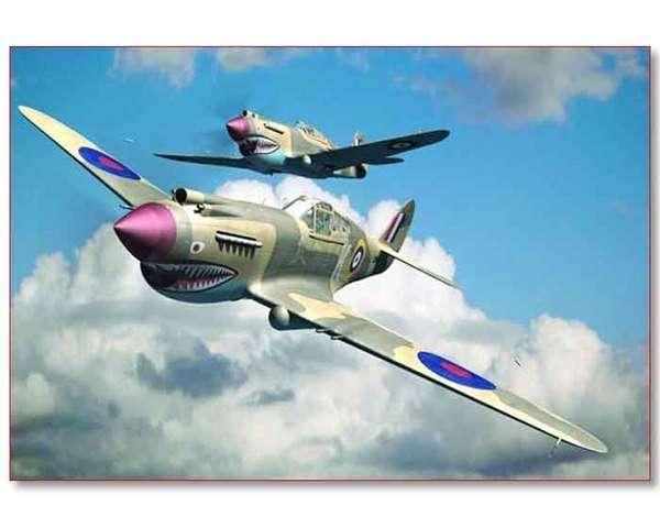 Plastikowy model do sklejania myśliwca P-40B Warhawk, model Trumpeter 02807_image_2-image_Trumpeter_02807_3