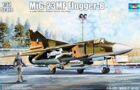 Rosyjski myśliwiec MiG-23MF Flogger-B model do sklejania w skali 1:32 - Trumpeter_03209_image_2-image_Trumpeter_03209_3