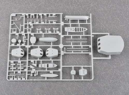 Plastikowy model do sklejania brytyjskiego pancernika w skali 1:200 - Trumpeter_03708_image_12-image_Trumpeter_03708_8