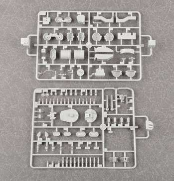 Plastikowy model do sklejania brytyjskiego pancernika w skali 1:200 - Trumpeter_03708_image_9-image_Trumpeter_03708_8