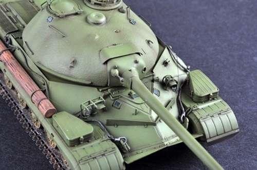 Rzut z góry na sklejony model czołgu IS-8 ( T-10 )-image_Trumpeter_05545_3