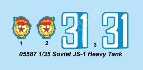 Model do sklejania ciężkiego czołgu JS-1 model_trumpeter_05587_skala_1_35_image_5-image_Trumpeter_05587_6