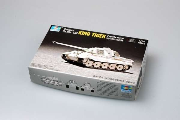 model_trumpeter_07292_tank_king_tiger_porsche_turret_with_zimmerit_hobby_shop_modeledo_image_2-image_Trumpeter_07292_2