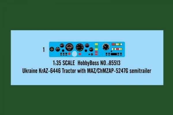 model_plastikowy_do_sklejania_hobby_boss_85513_ukraine_kraz_6446_tractor_with_maz_sklep_modelarski_modeledo_image_4-image_Hobby Boss_85513_3