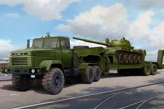 model_plastikowy_do_sklejania_hobby_boss_85513_ukraine_kraz_6446_tractor_with_maz_sklep_modelarski_modeledo_image_19-image_Hobby Boss_85513_6
